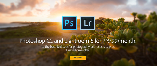PS & LR Adobe Limited Time Special