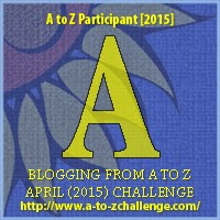 "A to Z Challenge ""A"" Badge"