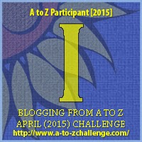"A to Z Challenge ""I"" Badge"