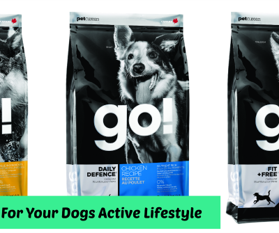 Petcurean Go! For Your Dogs Active Lifestyle