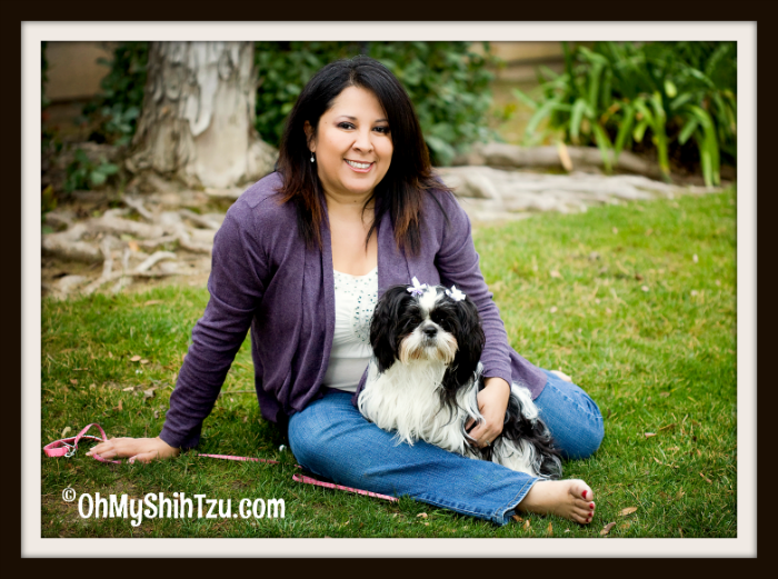 Pet Parent with Riley the Shih Tzu