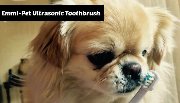 Emmi-Pet Ultrasonic Dog Toothbrush