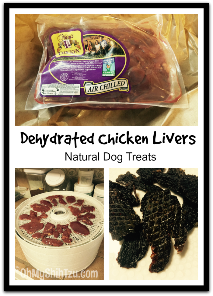 Dehydrated Chicken Liver Dog Treats - OMST