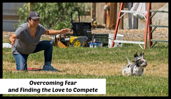 Overcoming Fear … and Finding the Love to Compete