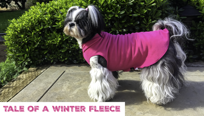 Gold Paw Series Stretch Fleece, Shih Tzu in Fleece Jacket