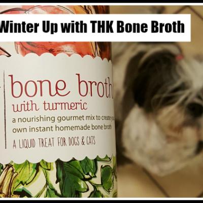 Warming Winter Up with THK Dog Bone Broth