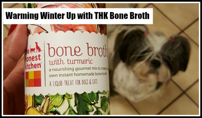 Warming Winter Up with THK Dog Bone Broth