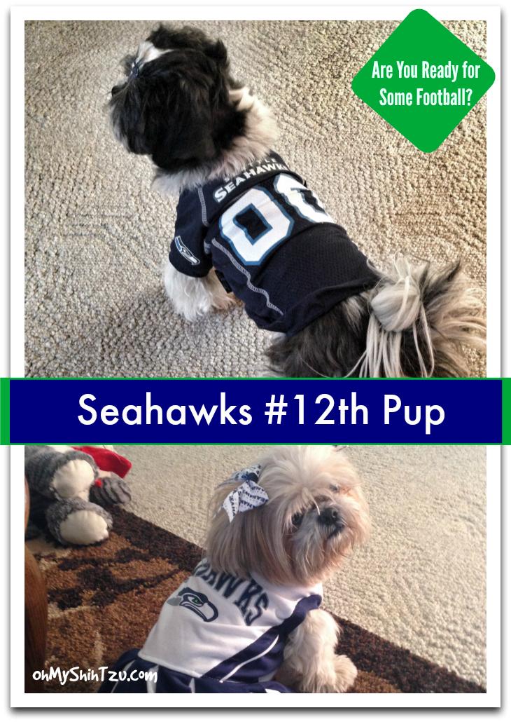 Seahawks #12thPup